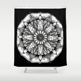 FlowerMandala Shower Curtain