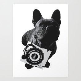 Boss Dog French BullDog Art Print