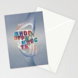 versatility wins! poster Stationery Cards