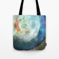 saturn Tote Bags featuring Saturn by Fernando Vieira