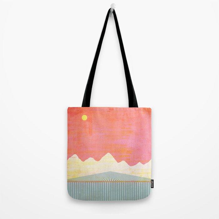 The Falls at Sunset Tote Bag