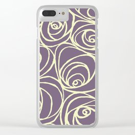 Roses 2 Clear iPhone Case