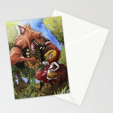 Red Hood Stationery Cards