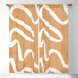 abstract minimal 31 Blackout Curtain