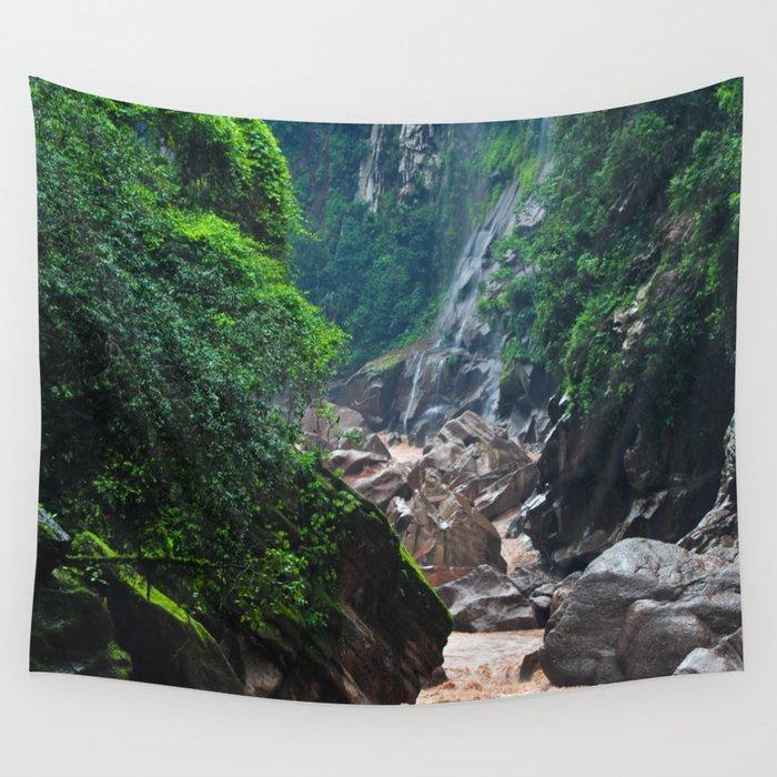 Peruvian Amazon II Wall Tapestry