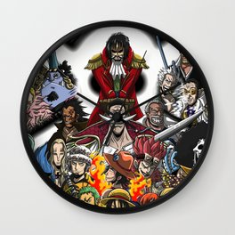 One Piece King of Pirates Wall Clock