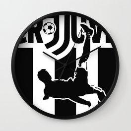 CR7 Ronaldo Juve Juventus Wall Clock