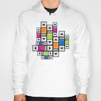 popart Hoodies featuring ScrollBar PopArt by Roberlan Borges