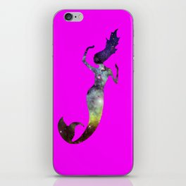 Galaxy Mermaid 2 (Pink) iPhone Skin