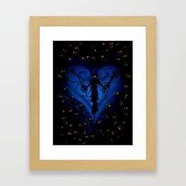 DARK SORA - KINGDOM HEARTS Framed Art Print