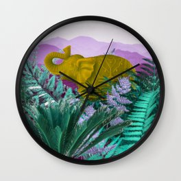 Jung-elephant Wall Clock