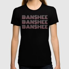 Banshee x3 - Gray/Pink Ombre T-shirt