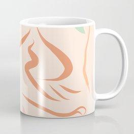 Body Love - line drawing Pattern #Matisse Coffee Mug