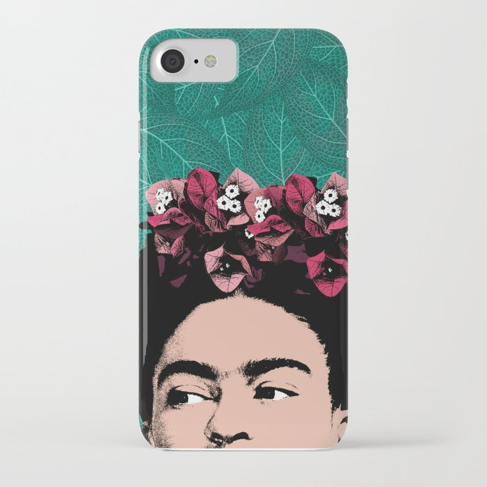 floral frida iphone case