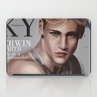 snk iPad Cases featuring SnK Magazine: Erwin by putemphasis