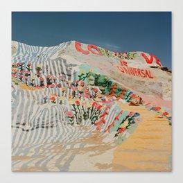 Salvation Mountain III Canvas Print
