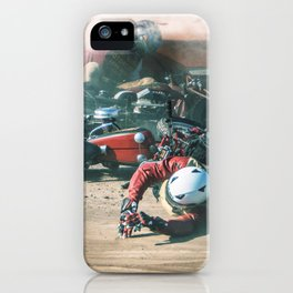 TANGLED IN HOT STEEL iPhone Case
