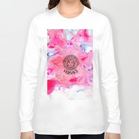 versace Long Sleeve T-shirts featuring Versace Medusa  by  Can Encin