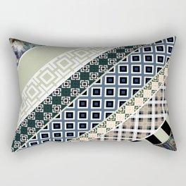 Folk textiles , patchwork Rectangular Pillow