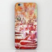 buddha iPhone & iPod Skins featuring Buddha   by LebensART