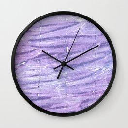 Soap abstract watercolor Wall Clock