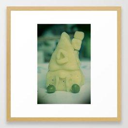 Potato House  Framed Art Print