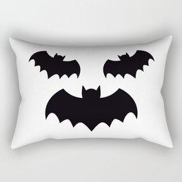funny bat Rectangular Pillow