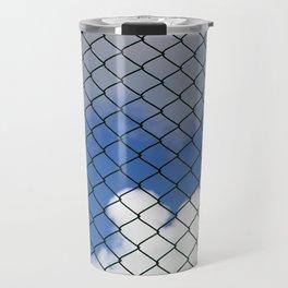 green metal grill Travel Mug