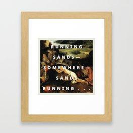 cutty sands Framed Art Print
