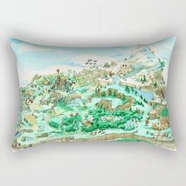 Spot the Hero Rectangular Pillow