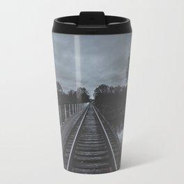 Dark Tracks Travel Mug