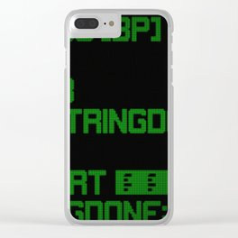 Source code led 01 Clear iPhone Case