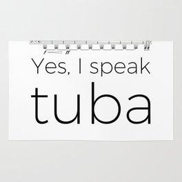 Do you speak tuba? Rug