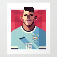 KA16 | Sky Blues Art Print