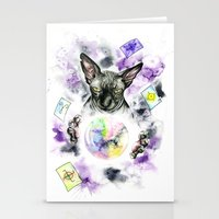 scarface Stationery Cards featuring Daubie the fortune teller  by Psyca