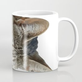 Stunning Tabby Cat Close Up Portrait Isolated Coffee Mug