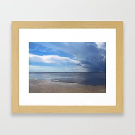 Rain Shaft Framed Art Print