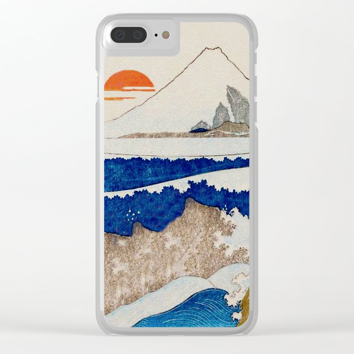 The Coast Searching Clear iPhone Case