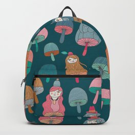 Pattern Project #49 / Mushroom Girls Backpack