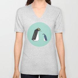 New Zealand Penguins Unisex V-Neck