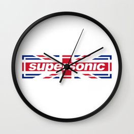 Supersonic Wall Clock