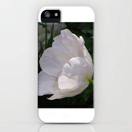 White Tulips iPhone Case