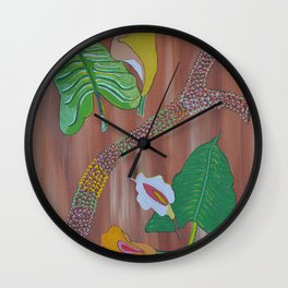 """Arum"" by ICA PAVON Wall Clock"