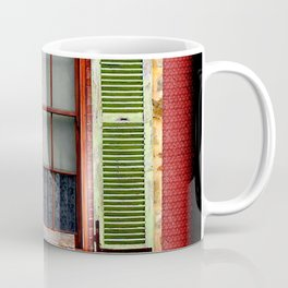 Window Shutters Coffee Mug
