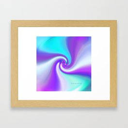 """""""Ribbon"""" Framed Art Print"""