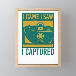 Photography Captured Framed Mini Art Print