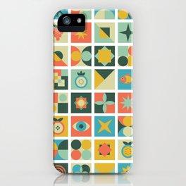 Geometric pattern #2 iPhone Case