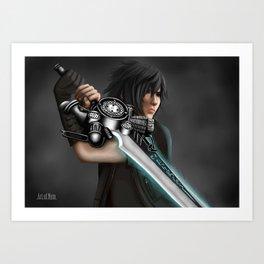 Noctis [Final Fantasy XV] Art Print