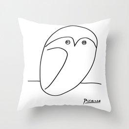 Picasso - Owl Throw Pillow