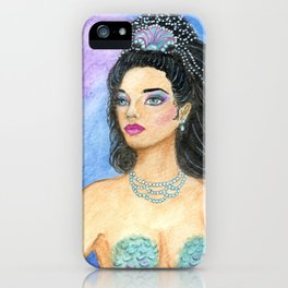 Mermaid's Mirror iPhone Case
